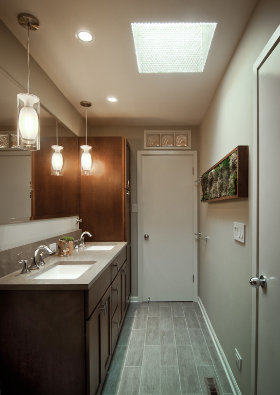 Organic And Light Filled Bathroom Kristin Taghon