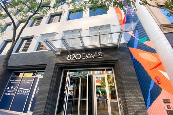 820 Davis Street - Office Opportunities in Renovated Building