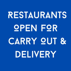 Evanston - Support Local Businesses - Food Delivery & Curb-Side Pick Up