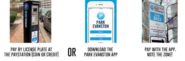 Downtown Evanston - Parking