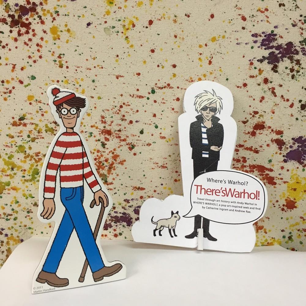 Wheres Waldo and Warhol Downtown Evanston