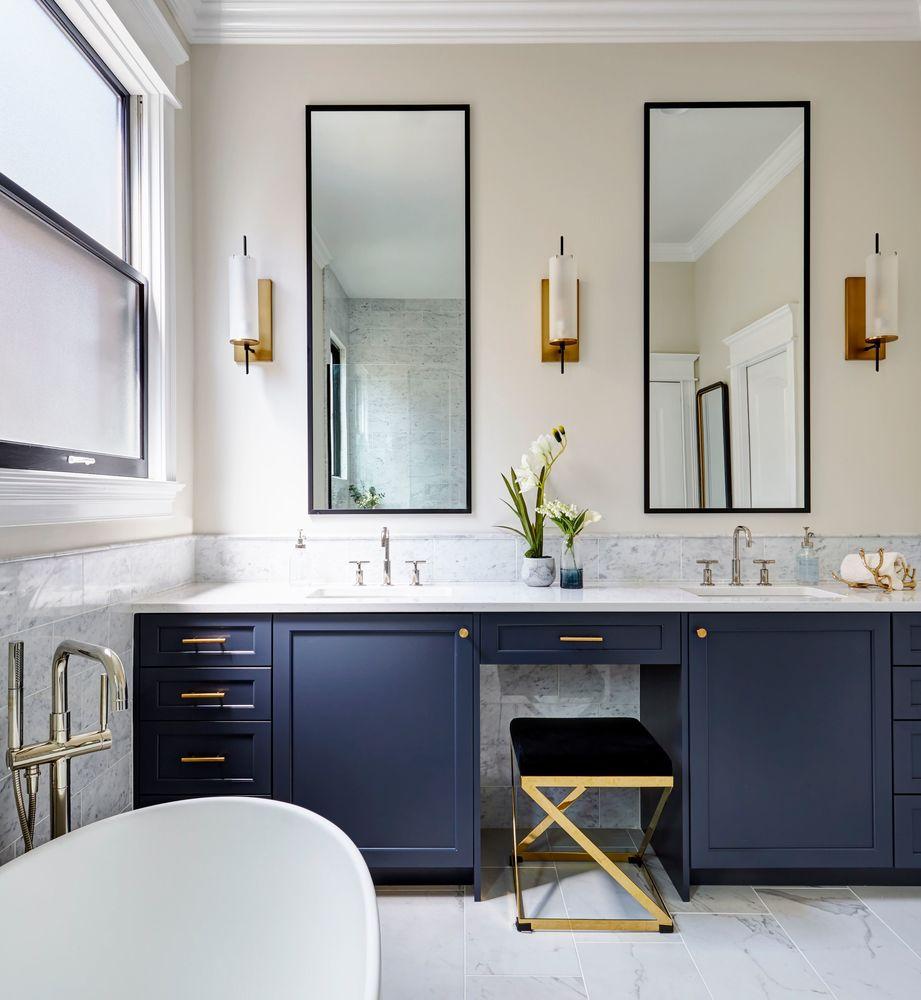 Black and Blue Bath