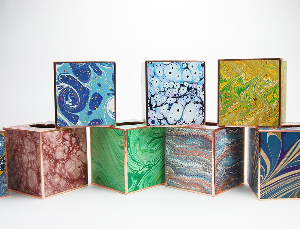 Marble Tissue Boxes
