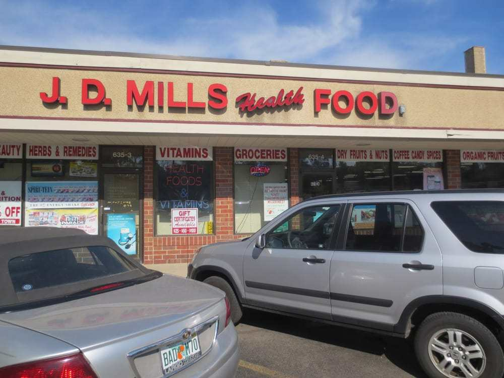 JD Mills Health Foods -