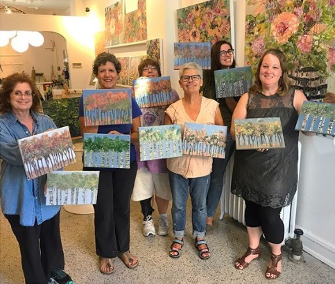 Amanda Evanston Freund Studio and Gallery -