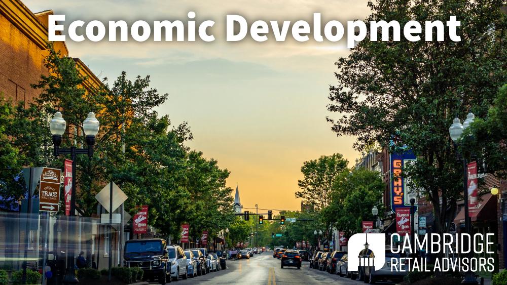 Cambridge Retail Advisors – Economic Development  -