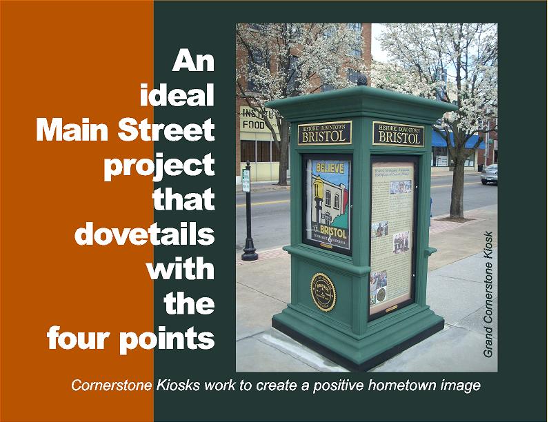 Cornerstone Kiosk -