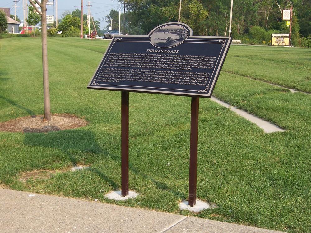 Franklin Bronze Plaques -