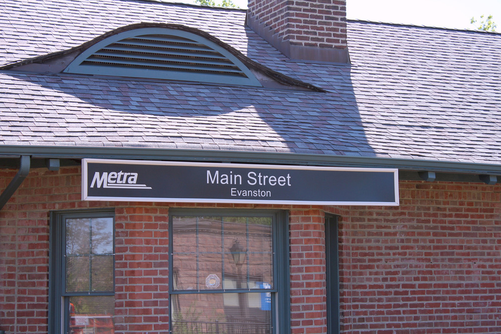Located one block from Main St. Metra & Purple Line stations.