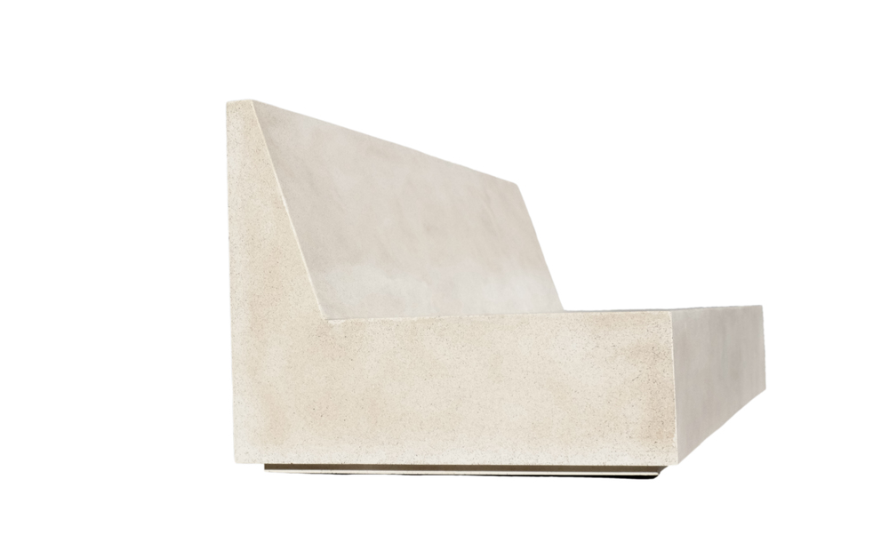 Lightweight Concrete Furniture, Lightweight Concrete Booth, Lightweight Concrete Chair, Lightweight Brutalism