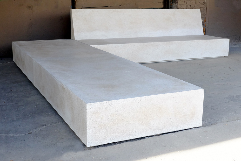 Custom Lightweight Concrete Table, Lightweight Concrete Table, Lightweight Outdoor Table, Custom Concrete Furniture