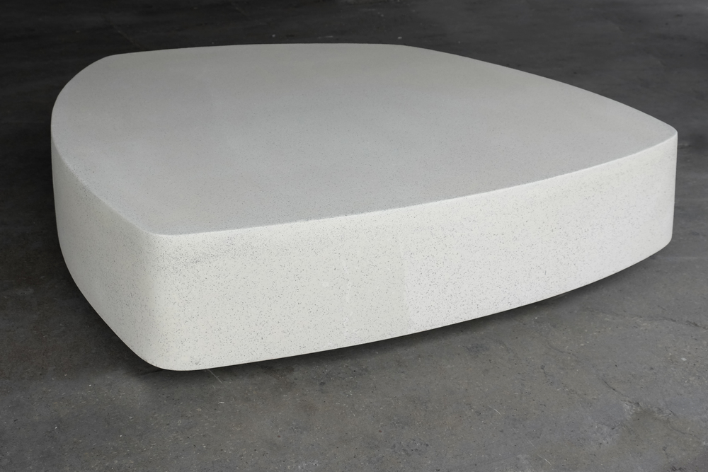 lightweight concrete, concrete furniture, lightweight concrete furniture, concrete table, lightweight concrete table, lightweight concrete coffee table, lightweight concrete cocktail table