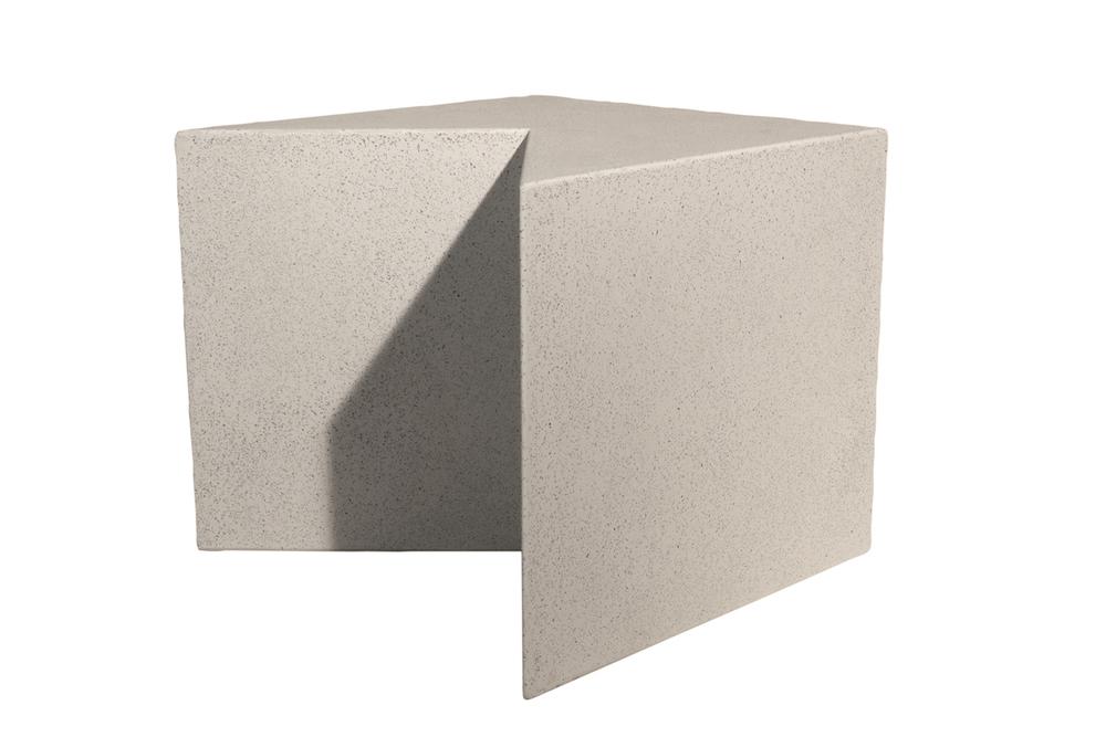 V Block, lightweight concrete furniture, concrete furniture