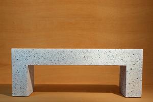 Aspen Bench - Malachite Terrazzo