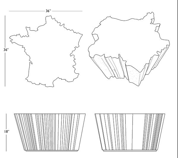 BOIS FRANCIS (FRANCE TABLE)