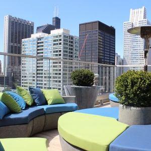 Virgin Hotel's New Rooftop Lounge